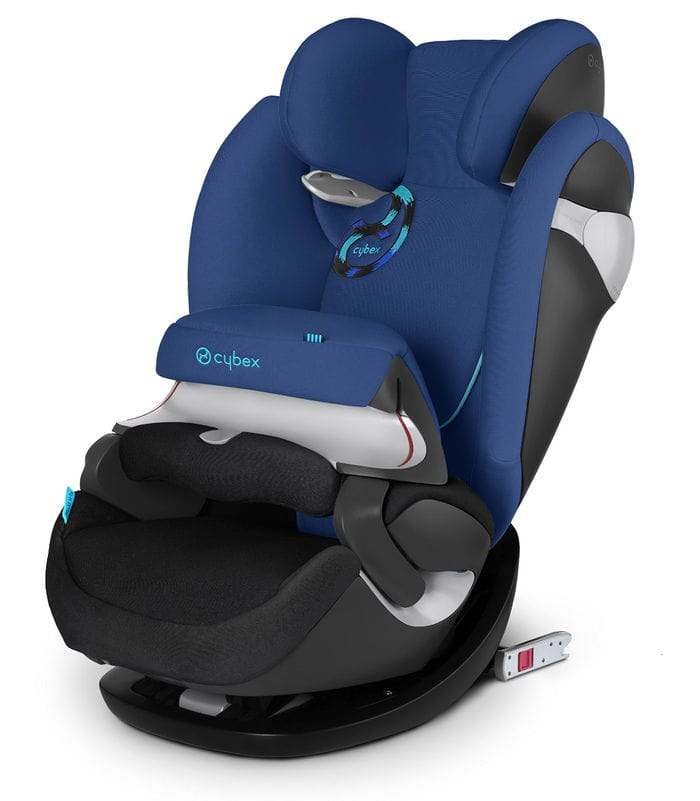 Cybex Solution M-fix - Silla de coche, grupo 2/3, color azul marino