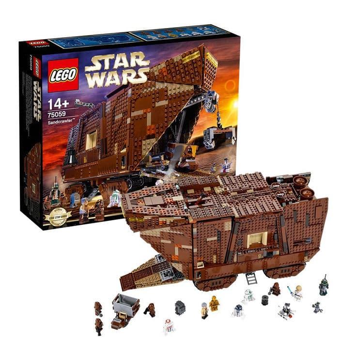 Los 10 mejores juguetes LEGO Star Wars que puedes comprar en 2018: naves, figuras y precios