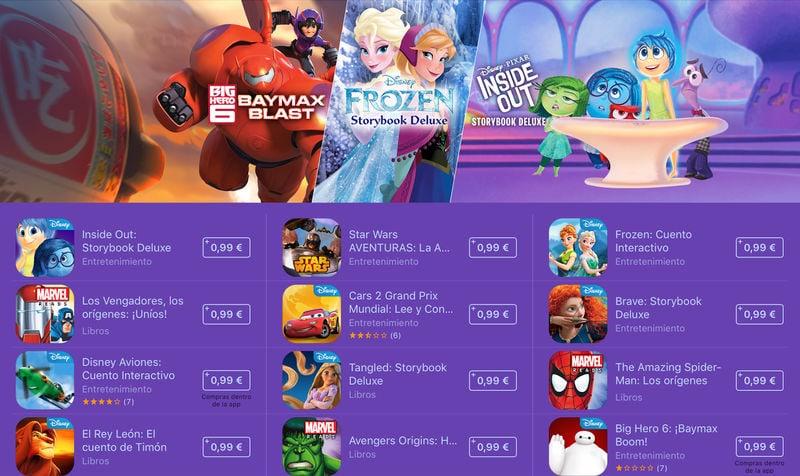 Cuentos interactivos para iPad rebajados de precio por tiempo limitado