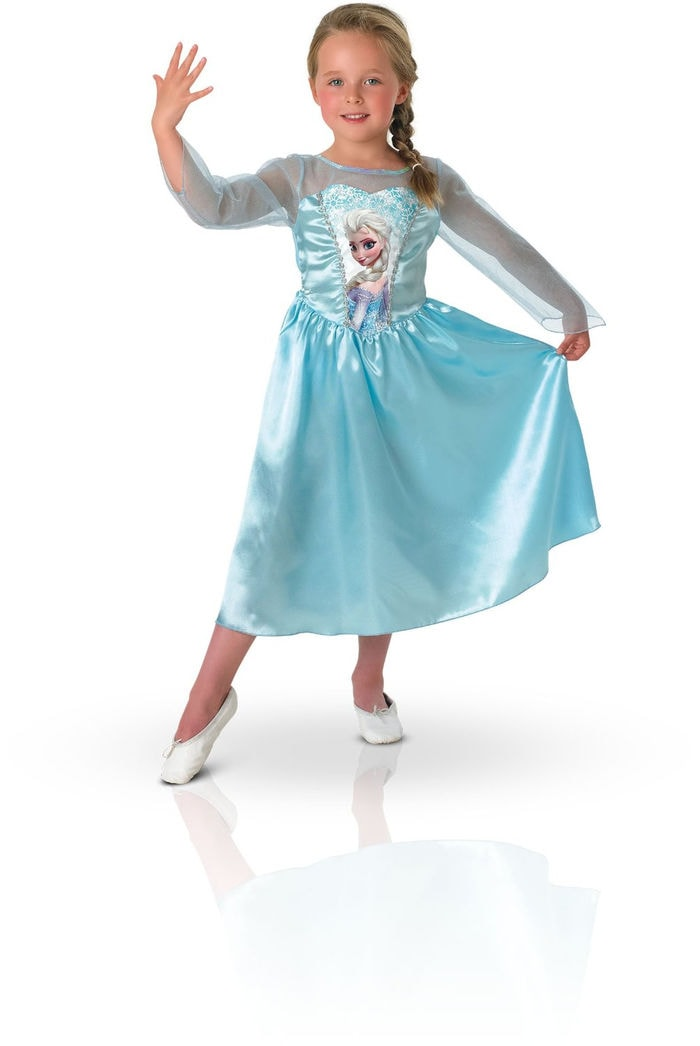 Rubie`s - Disfraz infantil de Elsa clásico (889542-M)
