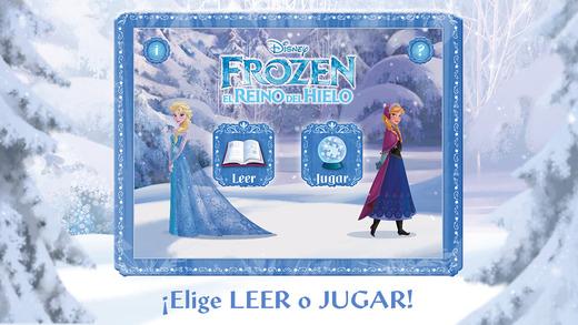 Frozen: cuento interactivo