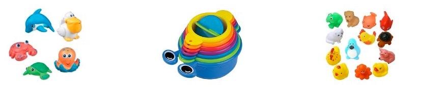 Juguetes de baño para bebés por menos de 10 euros