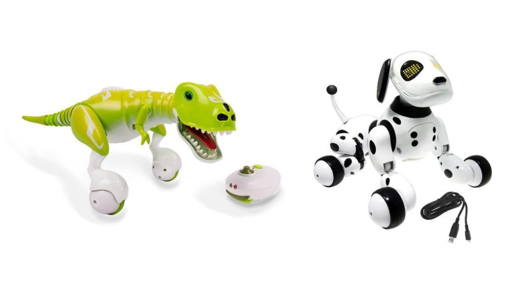 2 mascotas electrónicas de juguete que no te puedes perder: Zoomer Dino y Zoomer