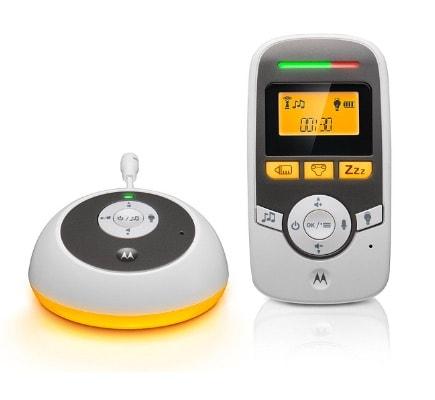 """Motorola MBP161 - Vigilabebés audio con pantalla de 1.5"""" y temporizador cuidado del bebé"""