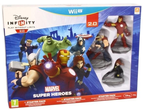 Disney Infinity: Marvel Super Heroes. Starter Pack 2.0 - Nintendo Wii U