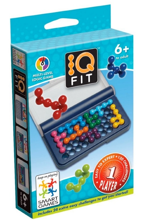 Juguetes STEM de Matemáticas: Smart IQ Fit, juego de ingenio con retos