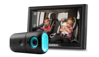 Una cámara dashcam para vigilar a tu bebé en el coche: Garmin babyCam