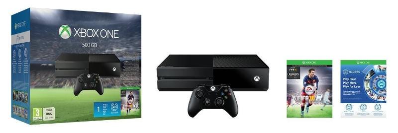 Xbox One + FIFA 16 + 1 mes EA Access