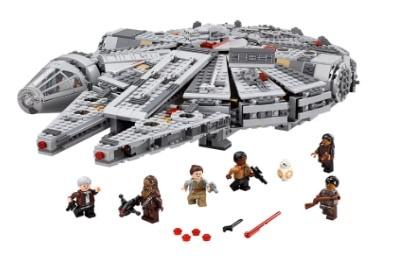 LEGO Star Wars - Set Millennium Falcon, multicolor (75105)