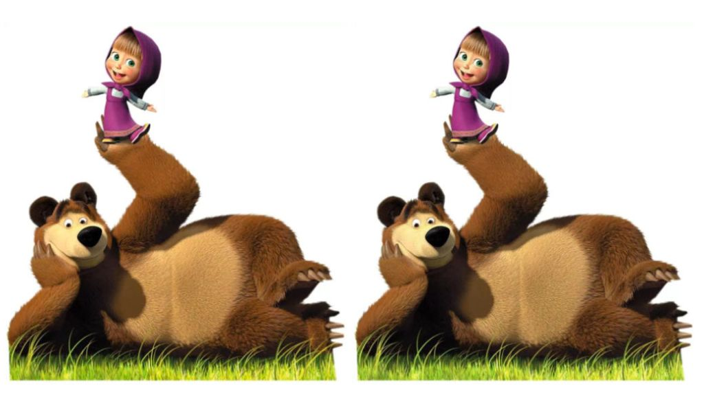 """Dibujos para niños recomendados: """"Masha y el oso"""" y Booba"""