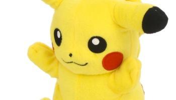 peluche Pokemon (Tomy T18610): Pikachu