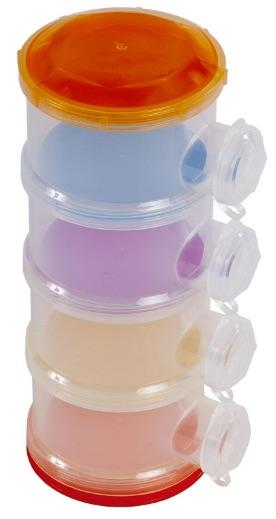 Bieco 423122 - Dosificador de leche, color naranja