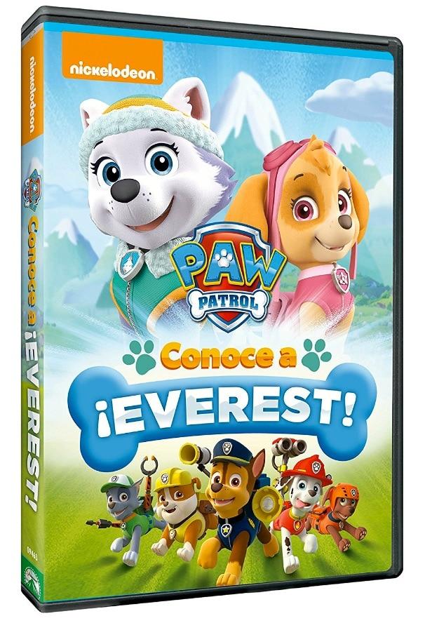 """El nuevo DVD de la Patrulla Canina: """"Paw Patrol: Conoce A Everest"""" por menos de 10 euros"""