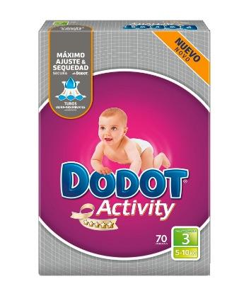 Dodot Activity - Pañales para bebé, talla 3 - 210 pañales