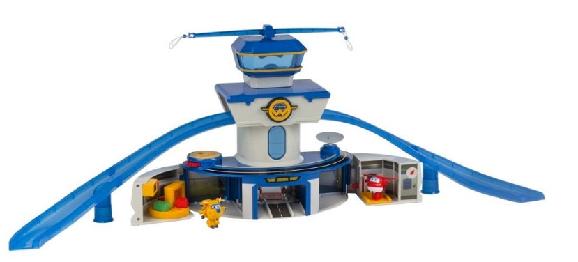 Super Wings - Aeropuerto internacional de Jett & Donnie