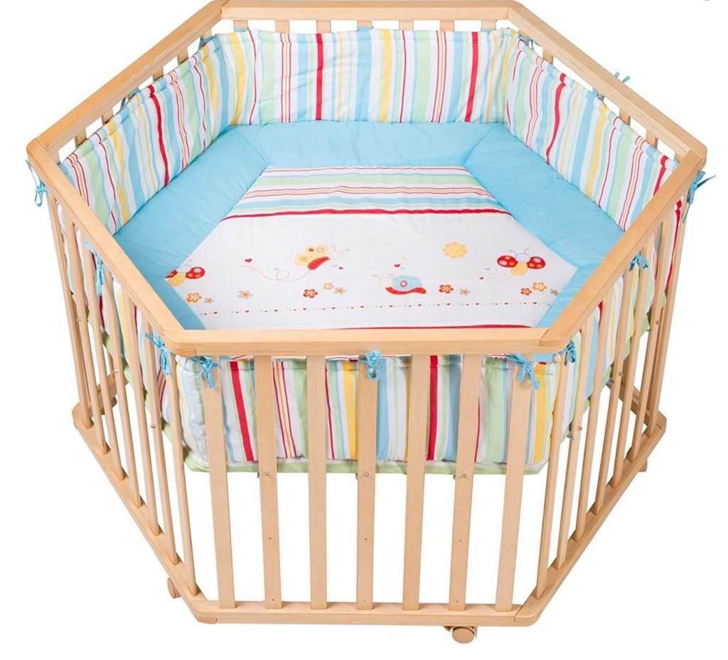 Roba 0232 V55 - Parque para bebés de madera