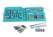 ColorBaby - Maletín con rotuladores, ceras y lápices para pintar, diseño Frozen
