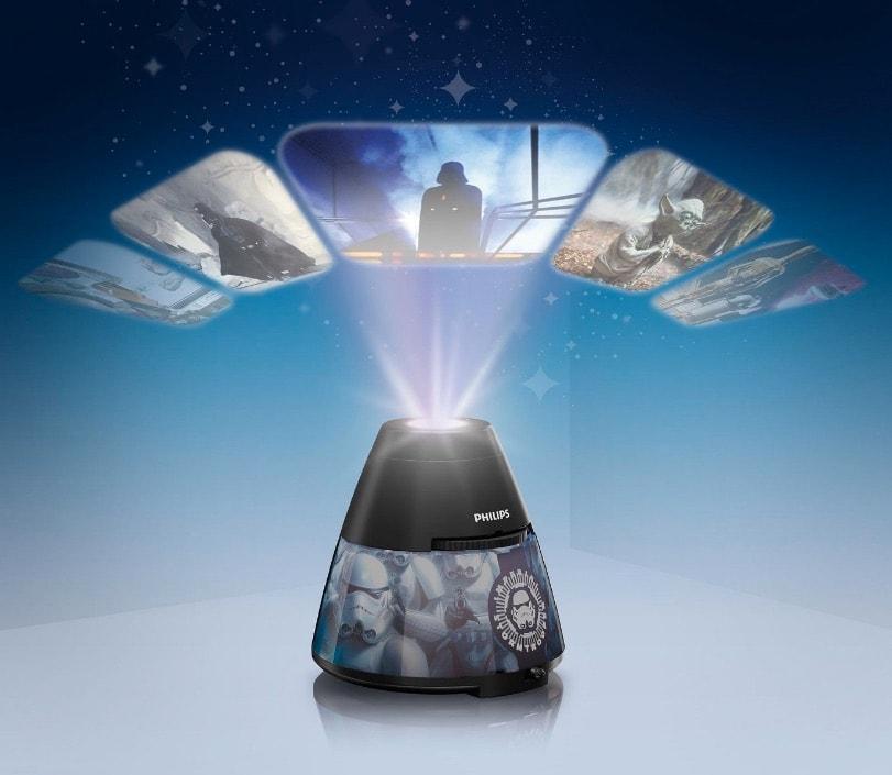 Philips Star Wars Soldado Imperial - Proyector y luz nocturna 2 en 1