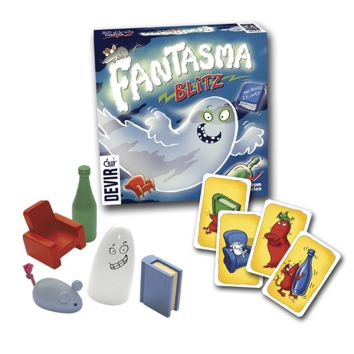 Devir - Fantasma Blitz, juego de mesa