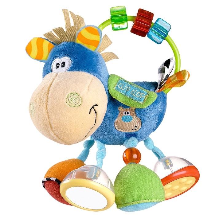 Playgro - Mordedor, forma de vaca Clip Clop