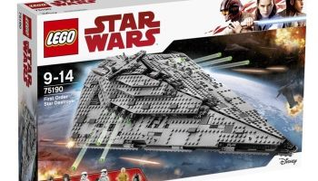 Oferta en juegues LEGO Star Wars durante el Black Friday 2017