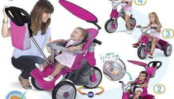 FEBER - Triciclo Baby Trike Easy Evolution