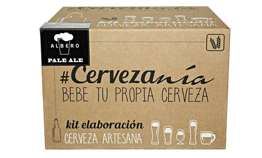 Kit de elaboración de cerveza rubia Pale Ale. Elabora 5 litros cerveza en casa: mejores regalos para padres y madres