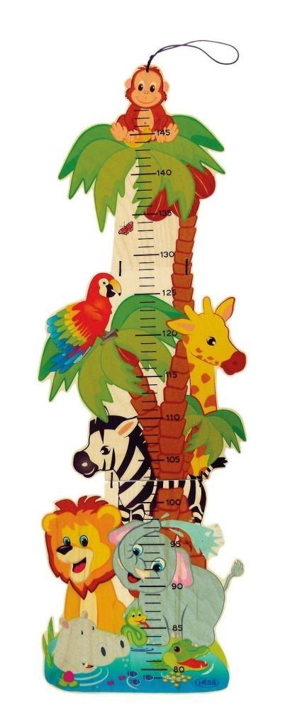 mejores medidores de crecimiento para niños y niñas: Hess Spielzeug 14626 medidor de altura para niños