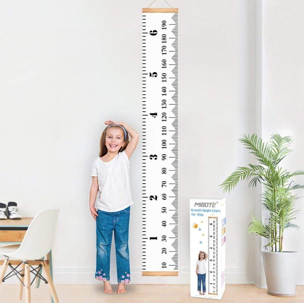 Los 4 mejores medidores de crecimiento para niños y niñas