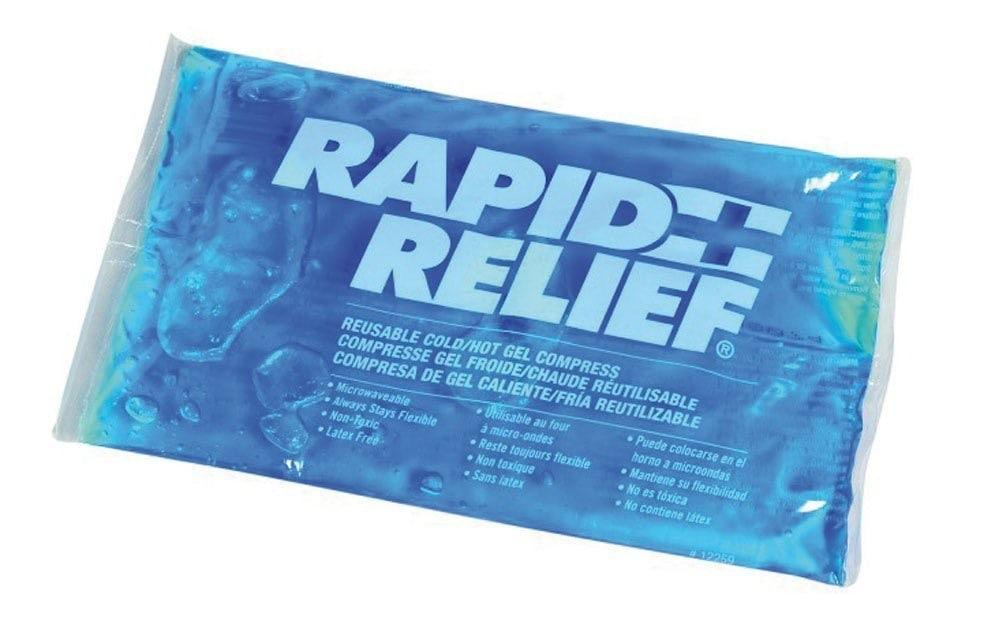 ¿Cómo curar un chichón a un niño? Rapid Relief compresa reutilizable, bolsa frío calor