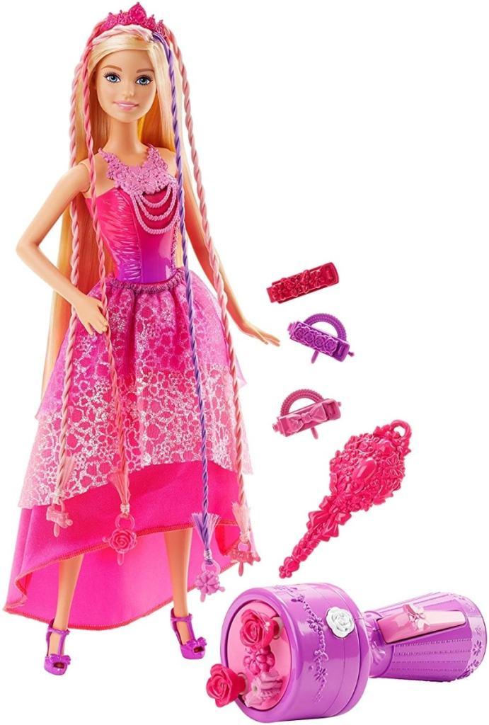 Barbie Muñeca Reino de los Peinados