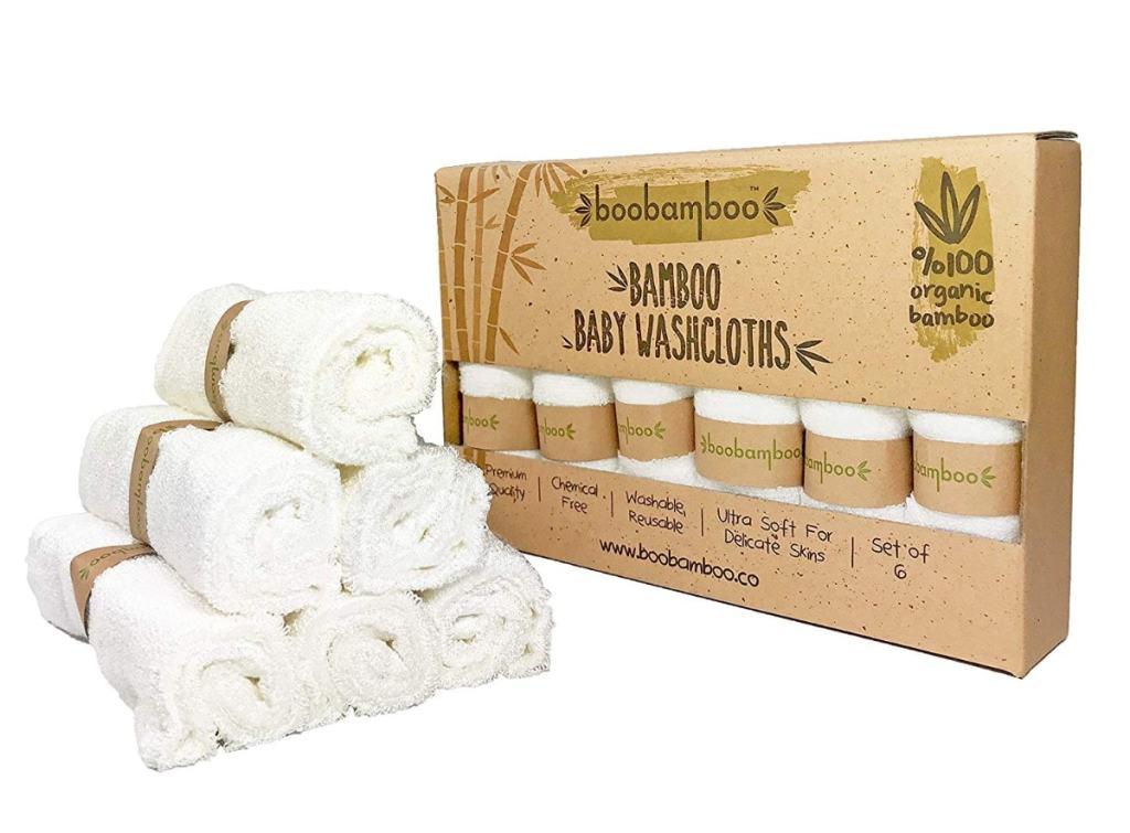 Paños Orgánicos Boobamboo para bebés y adultos, 100% Bambú