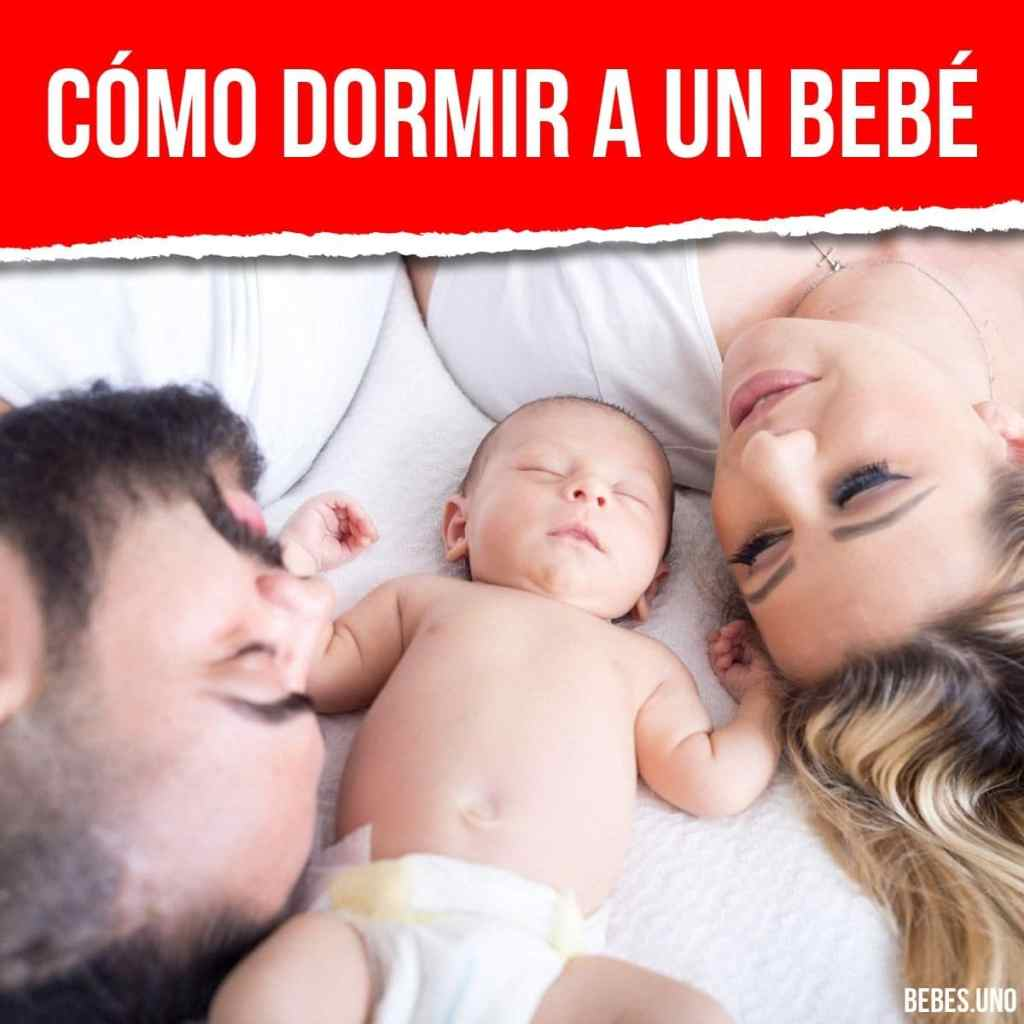 Cómo dormir a un bebé