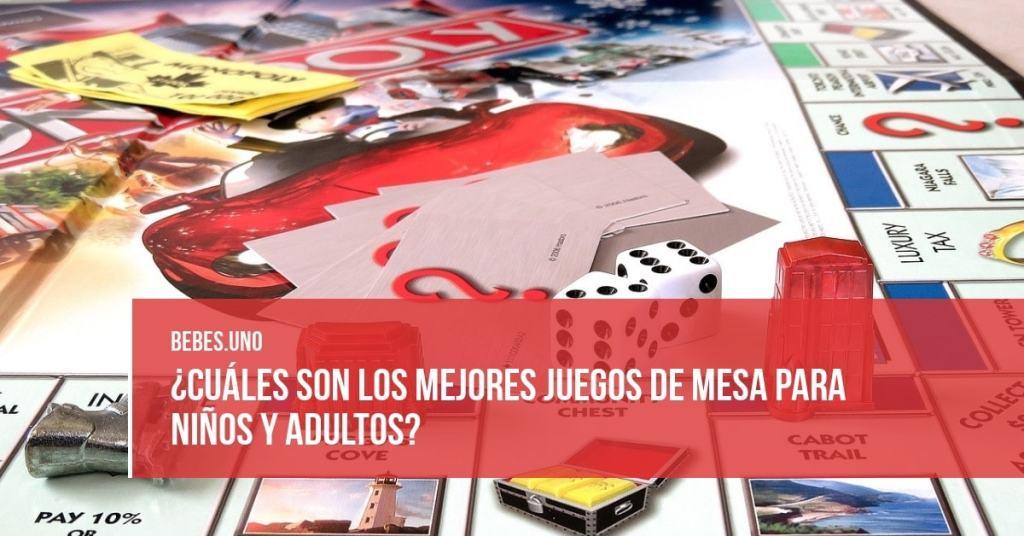 ¿Cuáles son los mejores juegos de mesa para niños y adultos?