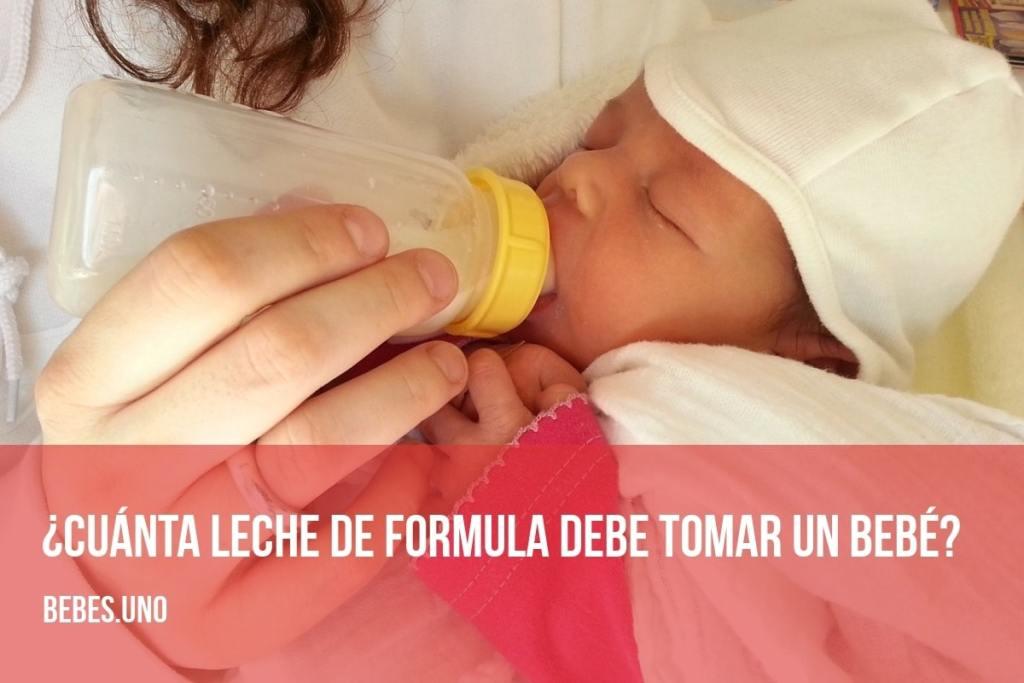 Cómo preparar la leche de formula para tu bebé