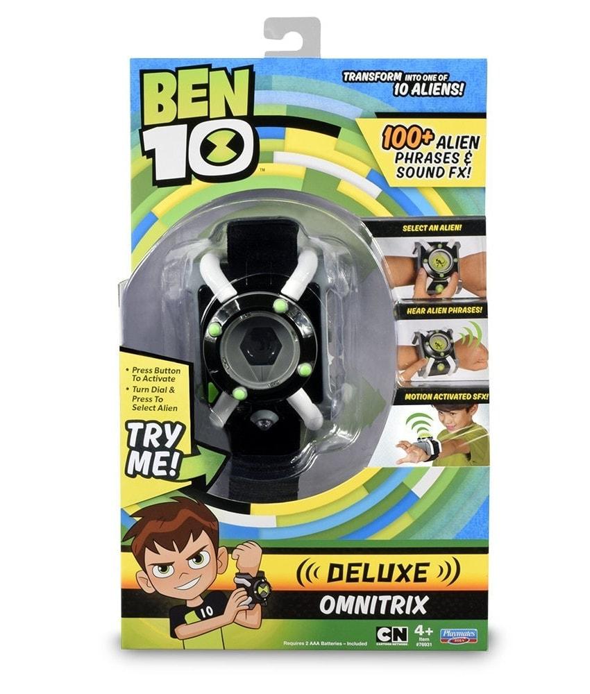 Reloj Ben 10 Omnitrix Deluxe Roleplay