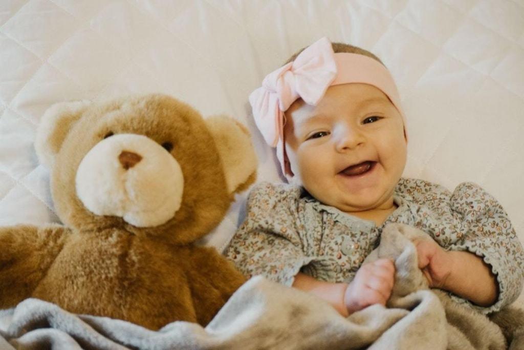 Las primeras risas del bebé