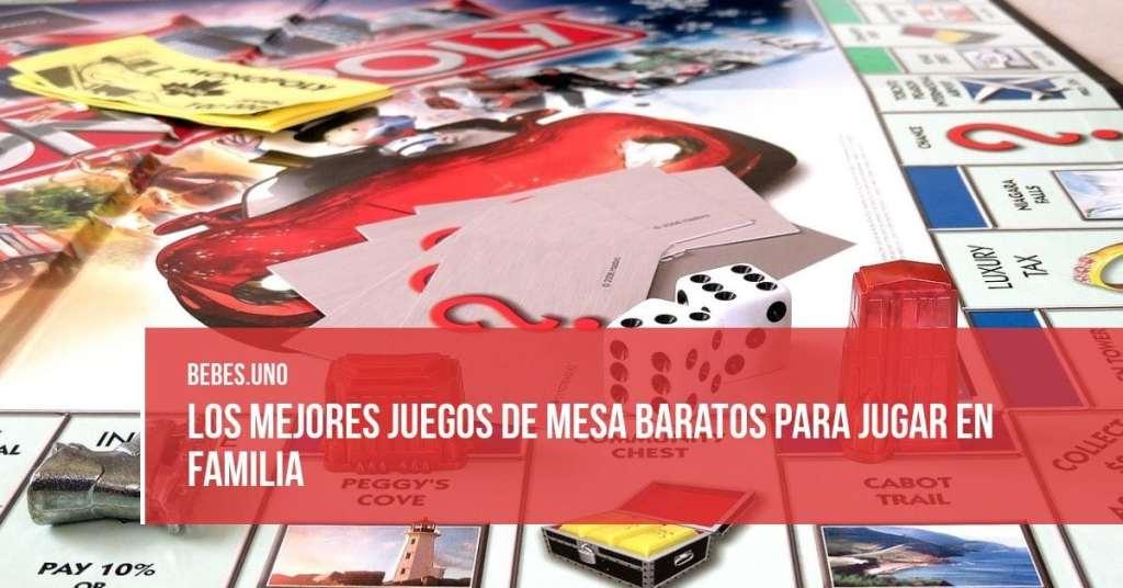 Los mejores juegos de mesa para jugar en familia por menos de 30 euros