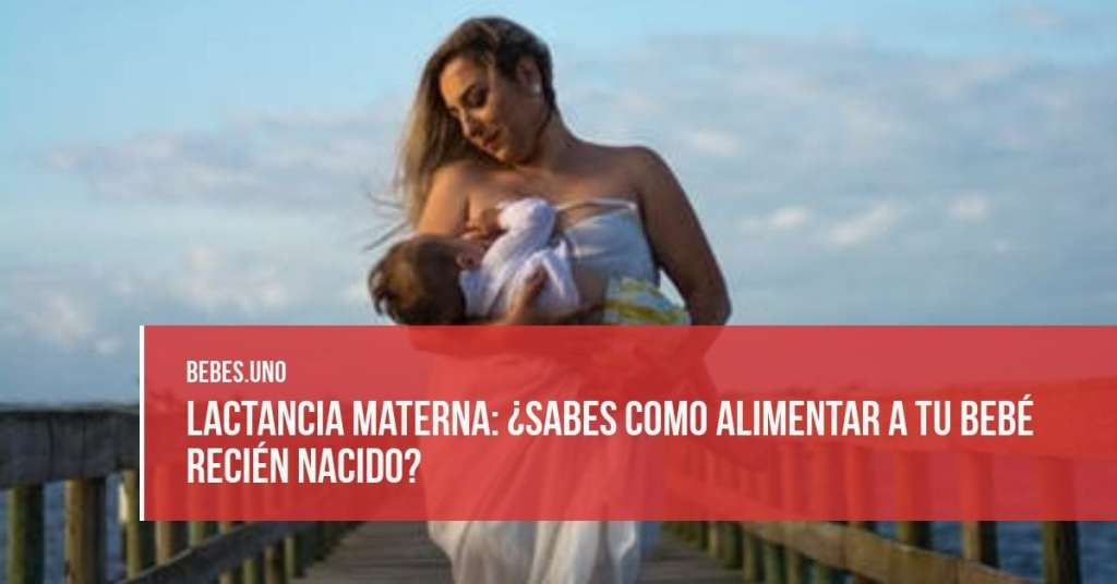 Lactancia materna: ¿Sabes como alimentar a tu bebé recién nacido?