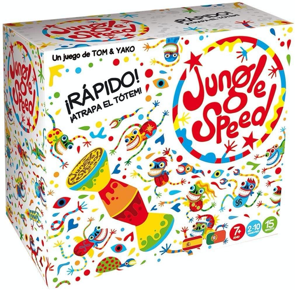 Asmodee Jungle Speed Skawk, juego de habilidad