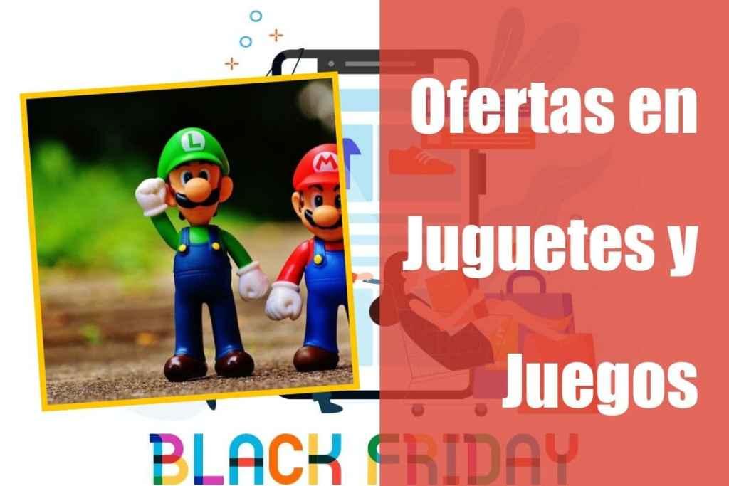Ofertas en juguetes de la semana del Black Friday