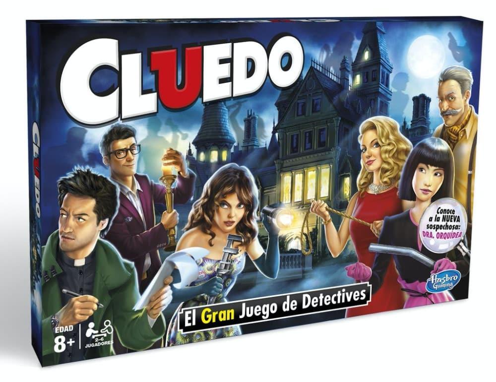 Hasbro Gaming Clasico Cluedo