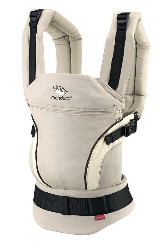 Mochila portabebés de Manduca: calidad, buen precio y ergonomía.