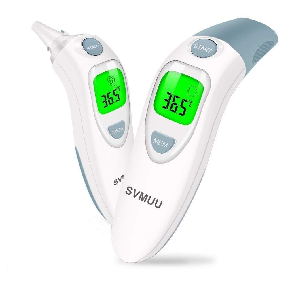 SVMUU - Termómetro digital para frente y oído