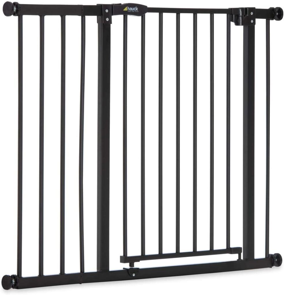 Hauck Close N Stop - Puerta de seguridad con extensión de 21 cm