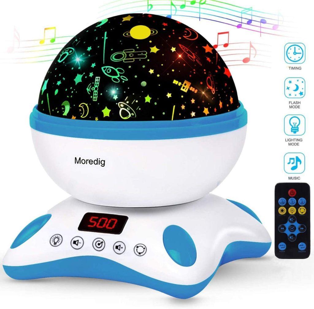 Proyector infantil con música de Moredig