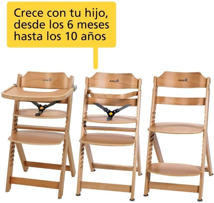 Safety 1st Timba – Trona evolutiva de madera.