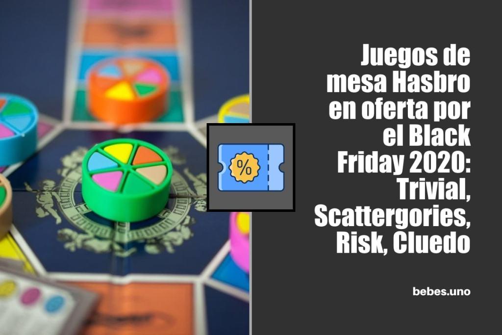 Juegos de mesa Hasbro en oferta por el Black Friday 2020: Trivial, Scattergories, Risk, Cluedo