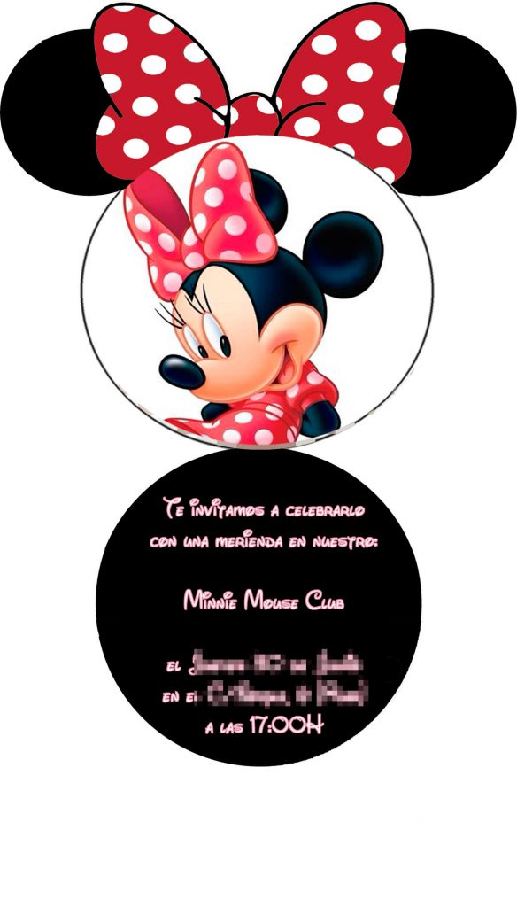 Invitaciones Gratis De Mimi Disney Unix Drawers