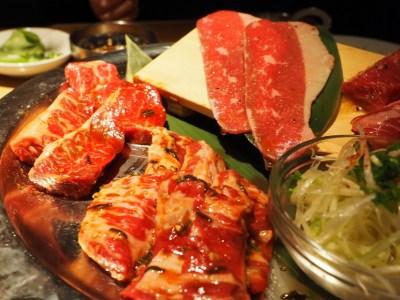六本木_焼肉_肉源のコース_お肉